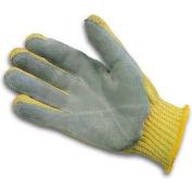 PIP Kevlar® Gloves W/Leather Palm, Medium Weight, S