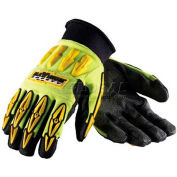 PIP Maximum Safety® Mad Max, Professional Workman's Glove, Black, XXL - Pkg Qty 12