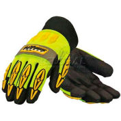 PIP Maximum Safety® Mad Max Thermo, Professional Workman's Glove, Black, L - Pkg Qty 12