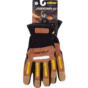 PIP Maximum Safety® Journeyman KV, Professional Workman's Glove, Brown, M, 1 Pair
