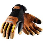 PIP Maximum Safety® Journeyman, Professional Workman's Glove, Brown, XXL - Pkg Qty 12