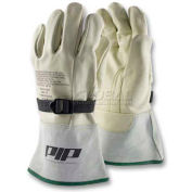 PIP Top Grain Cowhide Leather Protector For Novax® Gloves, Reinforced, Size 8