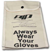 "PIP Protective Canvas Bag For Rubber Insulating Gloves, 11""L, One Size"