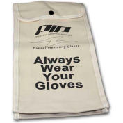 "PIP Protective Canvas Bag For Rubber Insulating Gloves, 14""L, One Size"