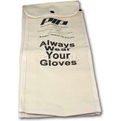 "PIP Protective Canvas Bag For Rubber Insulating Gloves, 18""L, One Size"