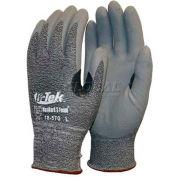 PIP Zormax Premium Micro-Foam Nitrile Coated Palm Gloves, Gray, L