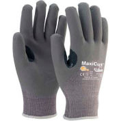 PIP MaxiGard™ Premium Gray Foam Nitrile Gloves, Over Knuckle Coated, Dyneema® Shell, S