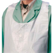 "PIP Light Weight Embossed Polyethylene Apron, 46"" X 28"""