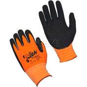 PIP G-Tek® MaxiFlex Gloves, Black Micro-Foam Nitrile Coated Palm & Finger Tips, 1 Dozen, S - Pkg Qty 12