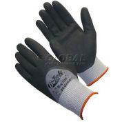 PIP G-Tek® MaxiFlex II Gloves, Black Micro-Foam Nitrile Coated Palm, Full Finger, 1 Dozen, XXS - Pkg Qty 12