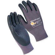PIP MaxiFoam® Lite™ Foam Nitrile Coated Gloves, Gray, 1 Dozen, L - Pkg Qty 12