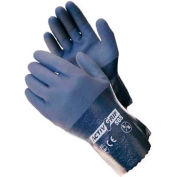 PIP Micro-Finish™ Grip Nitrile Coated Gloves, 56-AG585, L, Gray, 12 Pairs