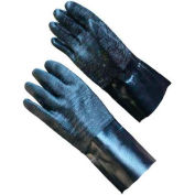 """PIP Neoprene Coated Gloves, Etched Rough Finish, Brushed Interlock, 12""""L, L"""