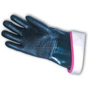 "PIP Neoprene Coated Gloves, Etched Rough Finish, Foam Insulated, 14""L, L"