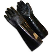 PIP Neoprene Coated Gloves, Etched Rough Finish, Brushed Interlock, L