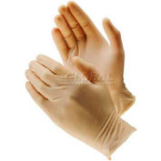 PIP Ambi-Dex® Disposable Latex Gloves, Medical Grade, Fully Textured, Powder Free, XL - Pkg Qty 10