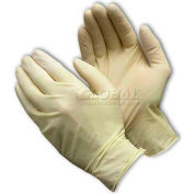 PIP Ambi-Dex® Disposable Latex Gloves, Food Grade, Fully Textured, Powder Free, XL - Pkg Qty 10