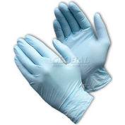 PIP Ambi-Dex® 63-331PF Premium Industrial Grade Nitrile Gloves, Powder-Free, Blue, M, 100/Box