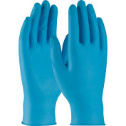 PIP Ambi-Dex® Disposable Nitrile Gloves, Industrial Grade, 8 Mil., Textured, Powdered, M - Pkg Qty 20