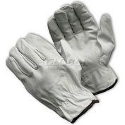 PIP Top Grain Goatskin Drivers Gloves, Economy Grade, Keystone Thumb, M