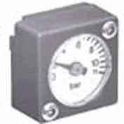 Parker Mini Square Gauge Kit K4511SCR150, 0-150 PSI