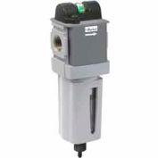 "Parker Manual Compact Coalescing Filter P32FA93DGMN, 3/8"" NPT, 150 PSIG, 23 SCFM"