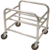 """Prairie View Bulk Mover Cart LUGCT1BK9 - 9 Bushel, 37-1/2""""L x 27""""W x 27""""H, Gray"""