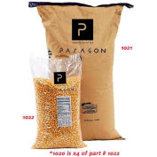 Paragon 1020 Bulk Yellow Buttery Popcorn - Quad Case Of 12-1/2 Lb Bags
