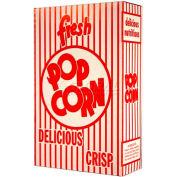 "Paragon 1072 Classic Popcorn Box - Large, 4-3/4""W x 2""D x 8""H, 1.5 Oz"