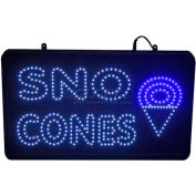 Paragon LED Sno Cone Lighted Sign, 1097, Comes With Hardware Kit