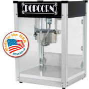 Paragon 1104520 Black Gatsby Popcorn Machine 4 oz Black 120V 1200W