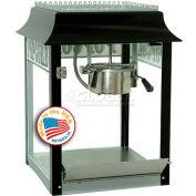Paragon 1104820 Black/Chrome Antique  Popcorn Machine 4 oz Black/Cream 120V 1100W