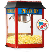 Paragon 1108910 Antique 1911 Popcorn Machine - 8 Oz Red Original Popper, 147 One-Oz Servings Per Hr