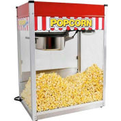 Paragon 1112810 Classic Pop Popcorn Machine 14 oz Red 120V 1900W