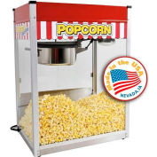 Paragon 1120810 Classic Pop Popcorn Machine 20 oz Red 120V 3050W