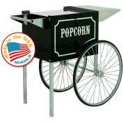 Paragon 3070820 Antique Popcorn Machine Cart 6oz, 8oz Black/Cream