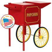 Paragon 3080010 Popcorn Machine Cart 4oz Red