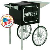 Paragon 3080820 Antique Popcorn Machine Cart 4oz Black/Cream