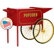 Paragon 3090010 Popcorn Machine Cart 12oz, 16oz Red