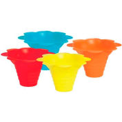 Paragon 6502 Multicolor Flower Drip Tray Cups 4 Oz, 100 Qty