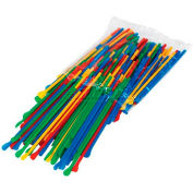 Paragon 6510 Snow Cone Spoon Straws, 200 Qty