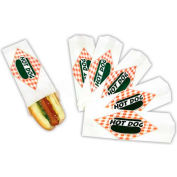 Paragon 8051 Hot Dog Paper Bags, 5000 Qty