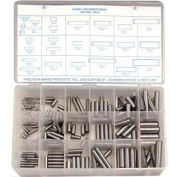 176 Piece Dowel Pin Assortment - Made In USA