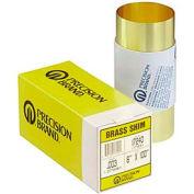 """0.0015"""" Brass Shim Stock 6"""" X 60"""" Roll - Min Qty 3"""