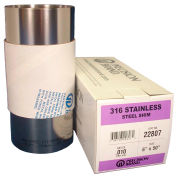 """Precision Brand 22847 0.010"""" Type 316 Stainless Steel Shim Stock 12"""" x 50"""" Roll"""