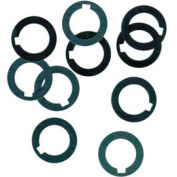 """1/2"""" I.D. x 3/4"""" O.D. x 0.008"""" Steel Arbor Spacer (Pack of 10)"""
