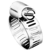 "M6S Micro Seal, Miniature All Stainless Worm Gear Hose Clamp, 5/16"" - 7/8"" Clamping Dia. 10-Pack"
