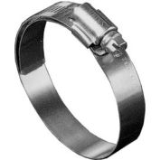 """B40HL Shielded/Lined Worm Gear Hose Clamp, 2-1/16"""" - 3"""" Clamping Dia. 10-Pack"""