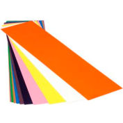 """0.002"""" Red, Plastic Color Coded Shim Stock, 5"""" X 20"""" Flat Sheet - Min Qty 11"""
