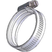 "WS34 WaveSeal 360™ 9/16"" Band Constant Tension Hose Clamp 1-5/8"" - 2-7/16"" Clamping Dia. 10Pk"